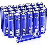 EBL AAA Alkaline Batteries 28 Count - Triple A 1.5V Long Lasting AAA Batteries Single Use Battery