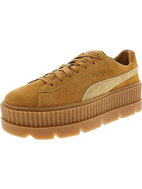 a1396dad5297 PUMA Womens Fenty by Rihanna Tan Cleated Creeper 36626802 Sneakers Shoes   Puma  Amazon.ca  Shoes   Handbags