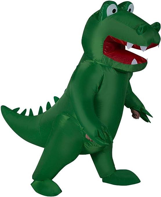 Amazon.com: Inflatable Alligator Adult Costume, talla única ...