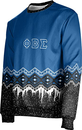 Prosphere Phi Beta Sigma Ugly Holiday Unisex Sweater Frost At