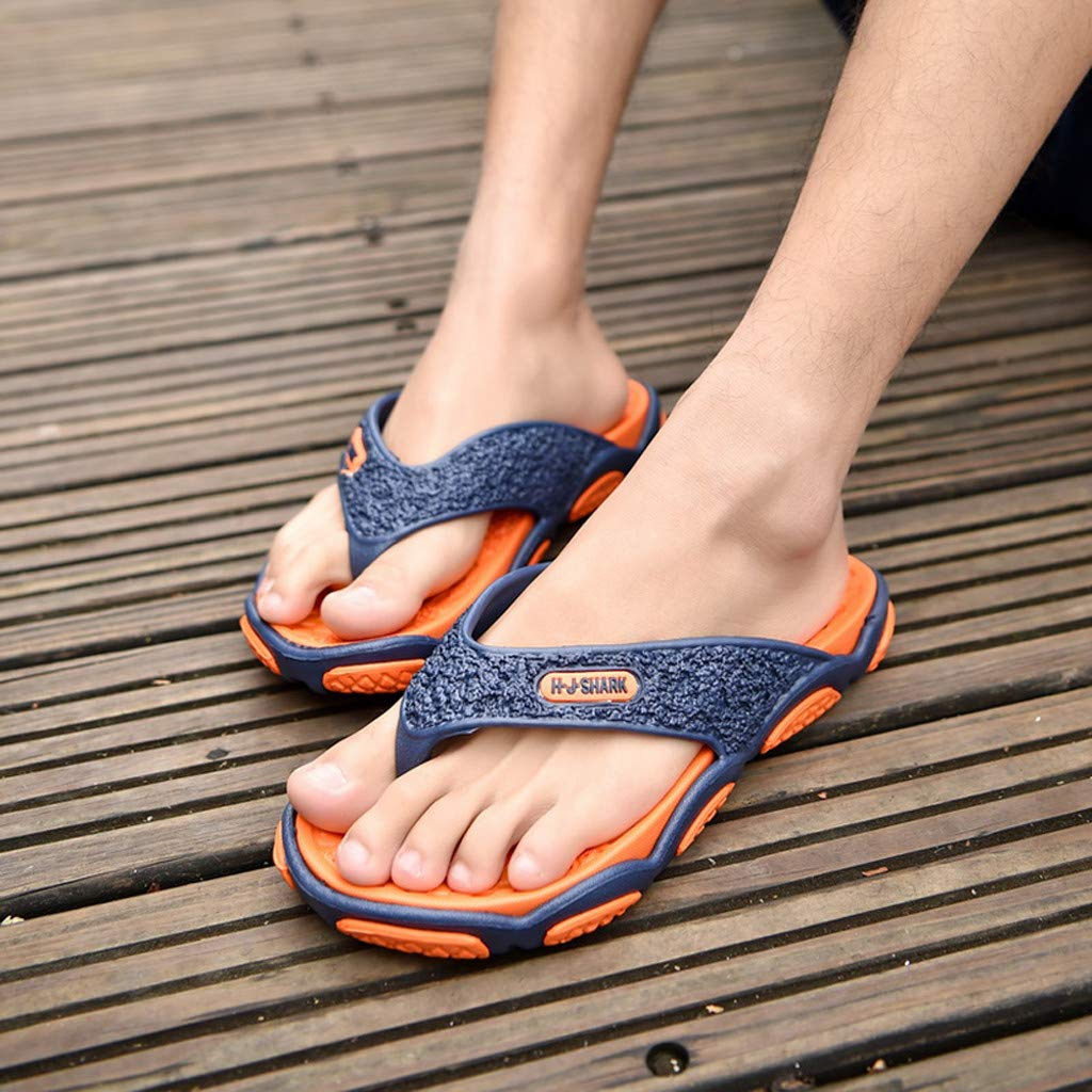 Geetobby Men's and Women's Flip Flop Shower Rubber Sandals Flip Flops Shoes by Geetobby Men's Shoes (Image #3)