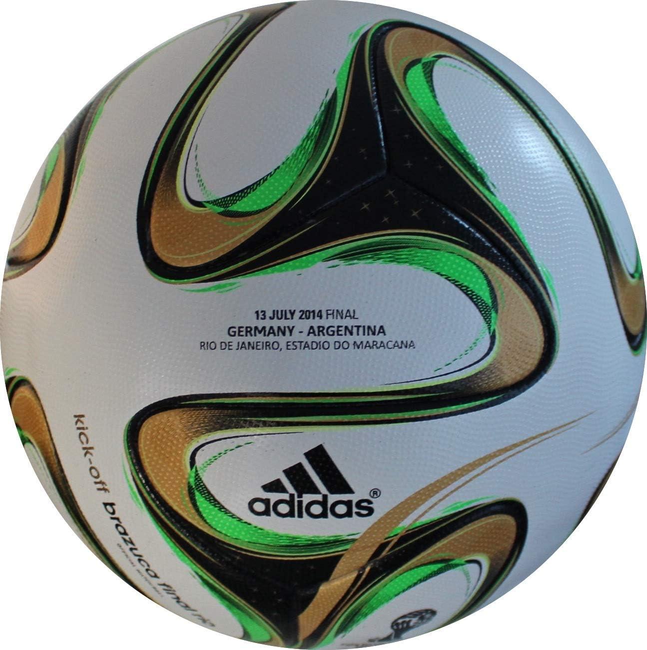 adidas Brazuca Balón de Final de Fútbol Alemania Argentina ...