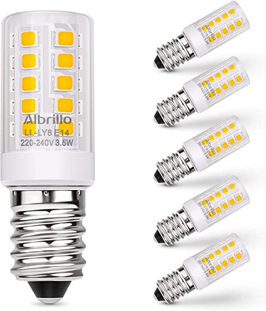 3,5W E14 LED Glühbirne Kerze Leuchtmittel Birne Lampe Warmweiß SMD bulb Weiß
