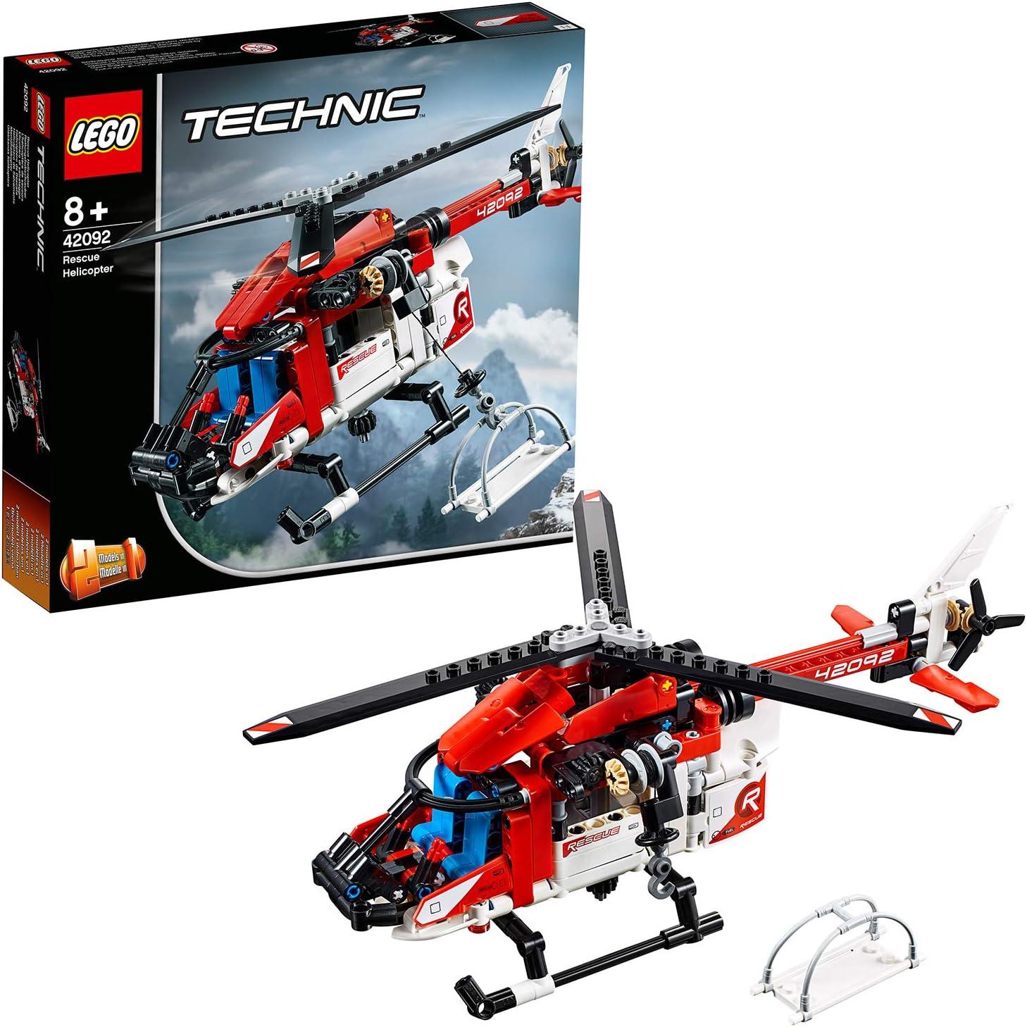 LEGO Technic - Helicóptero de Rescate, maqueta de juguete ...