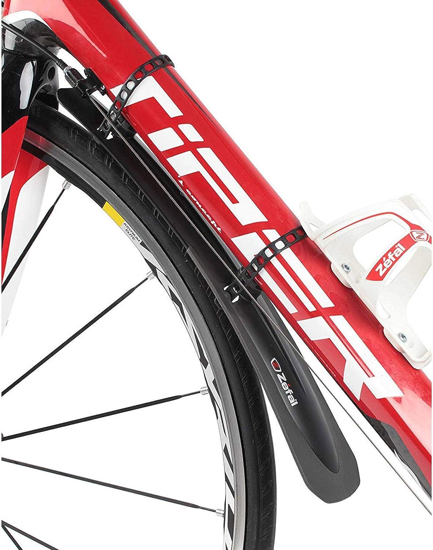 Bike Mudguard Set Zefal Twinset Swan Rear /& Croozer Road Front Black