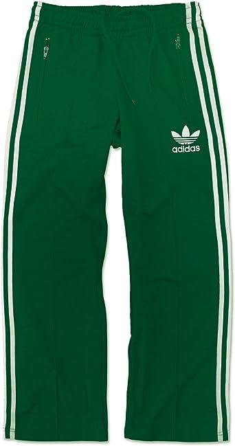 adidas Originals Europe Tp Beckenbauer Pantalon de Survêtement Pantalon Pantalon Sport Vert Blanc
