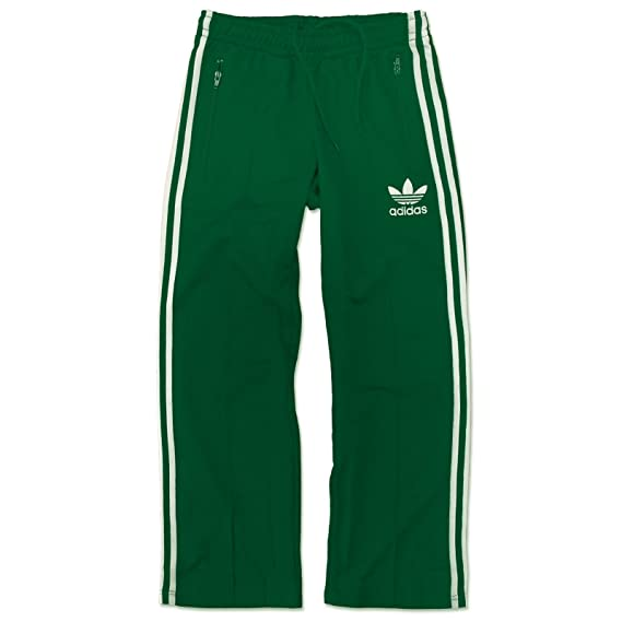 99f1f22ea49 adidas Originals Europe tp Beckenbauer Tracksuit Bottoms Sports Pants Green  White  Amazon.co.uk  Clothing