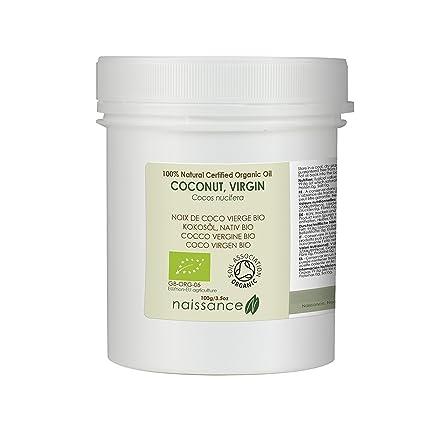 Naissance Kokosöl, nativ 100g BIO zertifiziert 100% rein