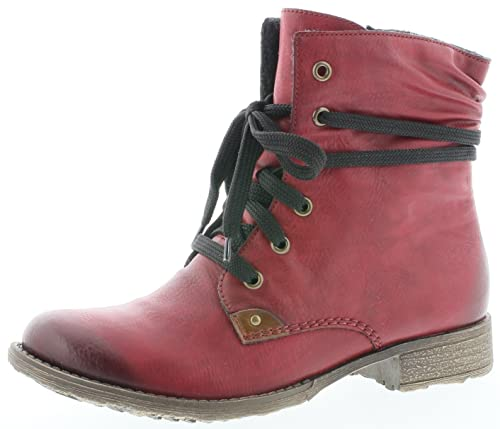 los angeles speical offer factory price Rieker 70829 Damen Kurzschaft Schnürstiefel