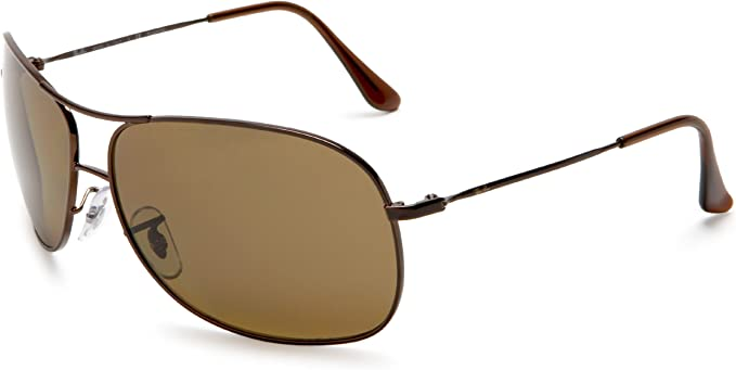 Ray-Ban Rb3267 - marco de las lentes polarizadas Polar Brown 64mm marrón: Amazon.es: Ropa y accesorios