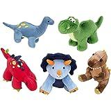 FRANKIEZHOU Stuffed Dinosaurs 5 Pack 5'' Plush Dinosaur Toy, Soft Dino Stuffed Animal Set Gifts for Kids