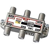サン電子 5分配器(全端子電通型) CSD-K775G-NP