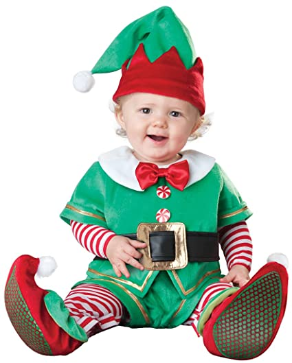 Image Unavailable - Amazon.com: Santa's Lil' Elf Baby Infant Costume - Infant Small