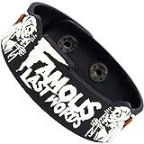 RockbandFan Famous Last Words Wristband Rubber Bracelet