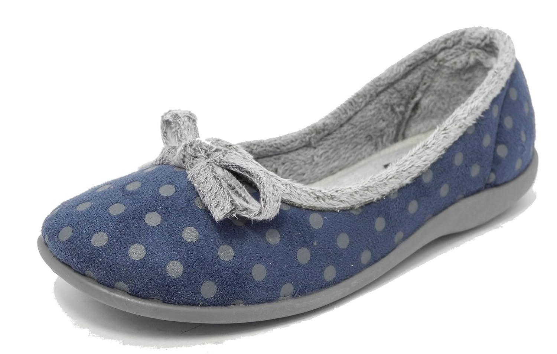 Pantofole da donna in a memory pois foam ROSA o BLU a in pois memory misura da   16a934
