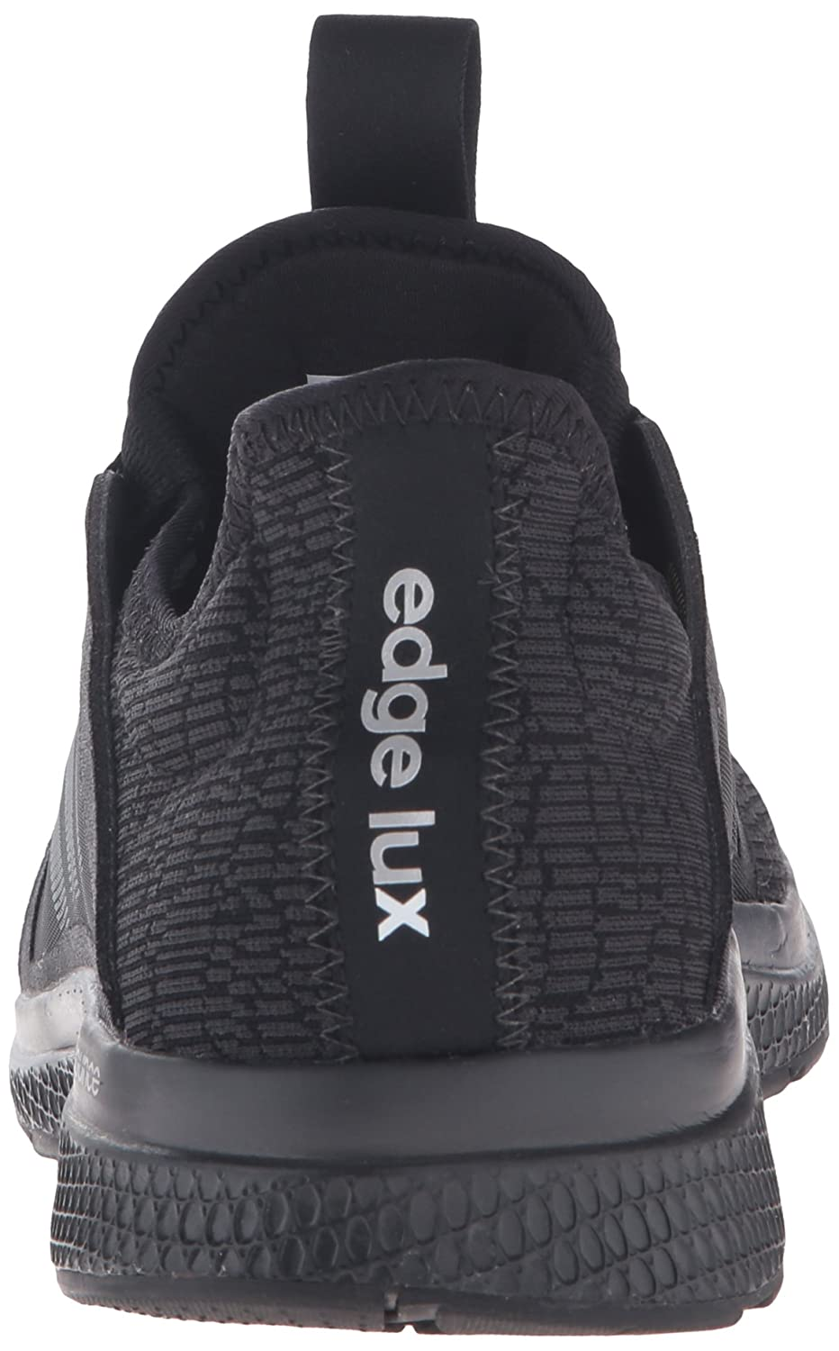 adidas Women's Edge Lux W Running Shoe B01A68BS4C 6.5 B(M) US|Black/White/Dgh Solid Grey