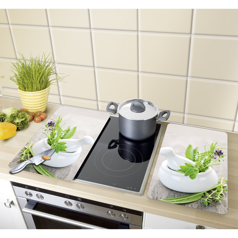 Wenko 2521399100 Cubierta De Cocina Universal Jard N De Hierbas Xl