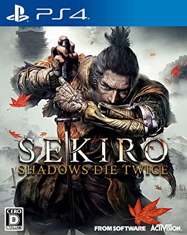 Activision Sekiro Shadows Die Twice SONY PS4 PLAYSTATION 4 ...