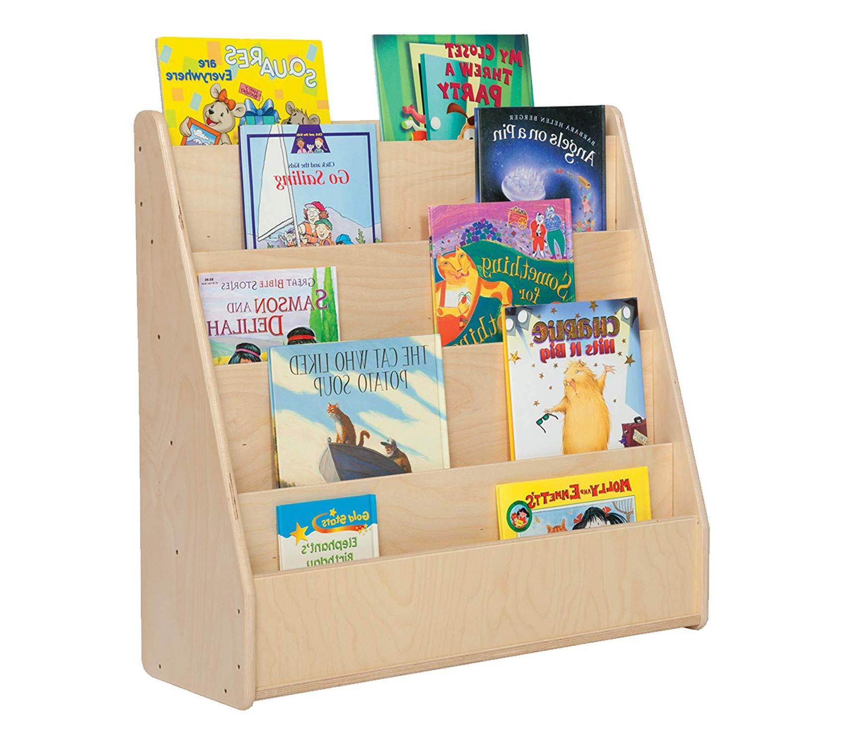 Sprоgs Wooden Book Shelf/Display, 29 Height, 10 1/2 Wide, 30 Length, Natural