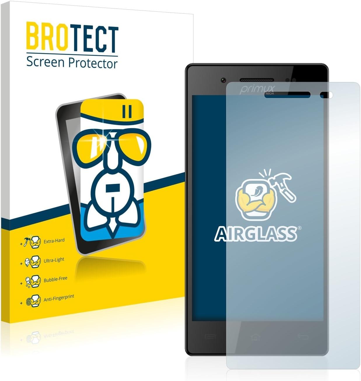 BROTECT Protector Pantalla Cristal Compatible con Primux Kappa ...