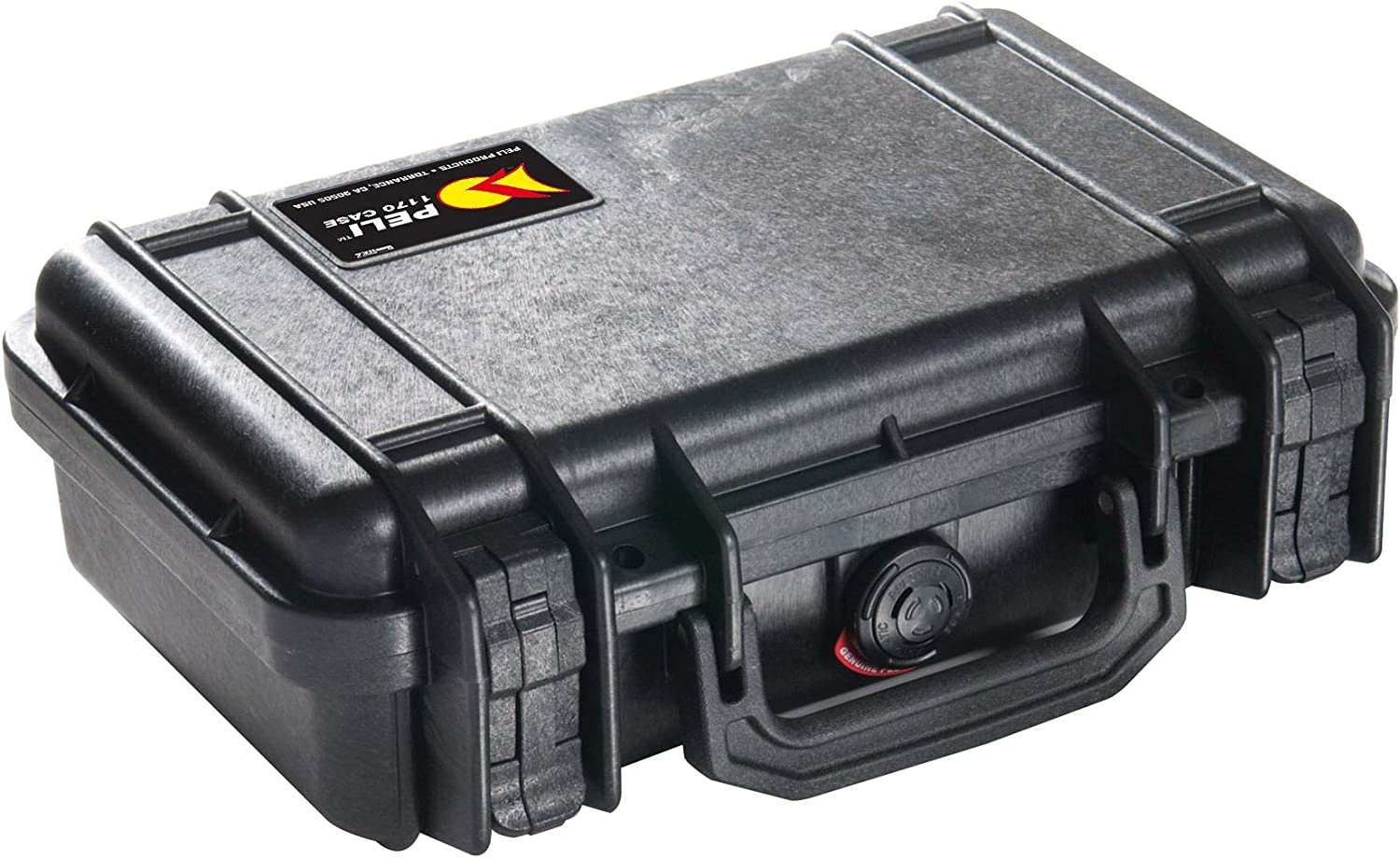 with Customisable Foam Insert 7L Capacity Silver IP67 Watertight and Dustproof Made in US PELI 1170 Professional Camera Case