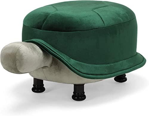 Deal of the week: Great Deal Furniture Cathy Velvet Turtle Ottoman