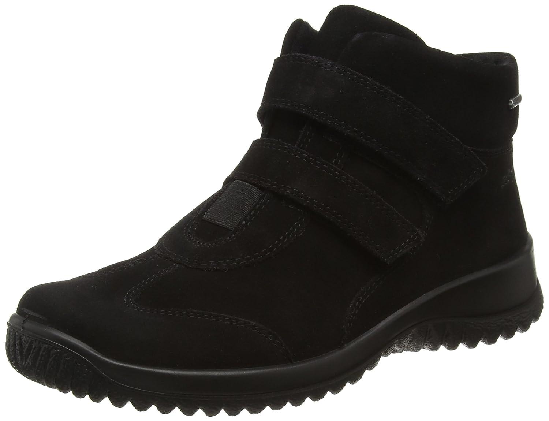 Legero Softboot Halb - Zapatillas para Mujer 42.5 EU Negro - Schwarz (Schwarz 00)