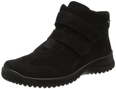 Legero Softboot Halb - Zapatillas para Mujer, Color Negro - Schwarz (Schwarz 00), Talla 42 EU (8 UK)