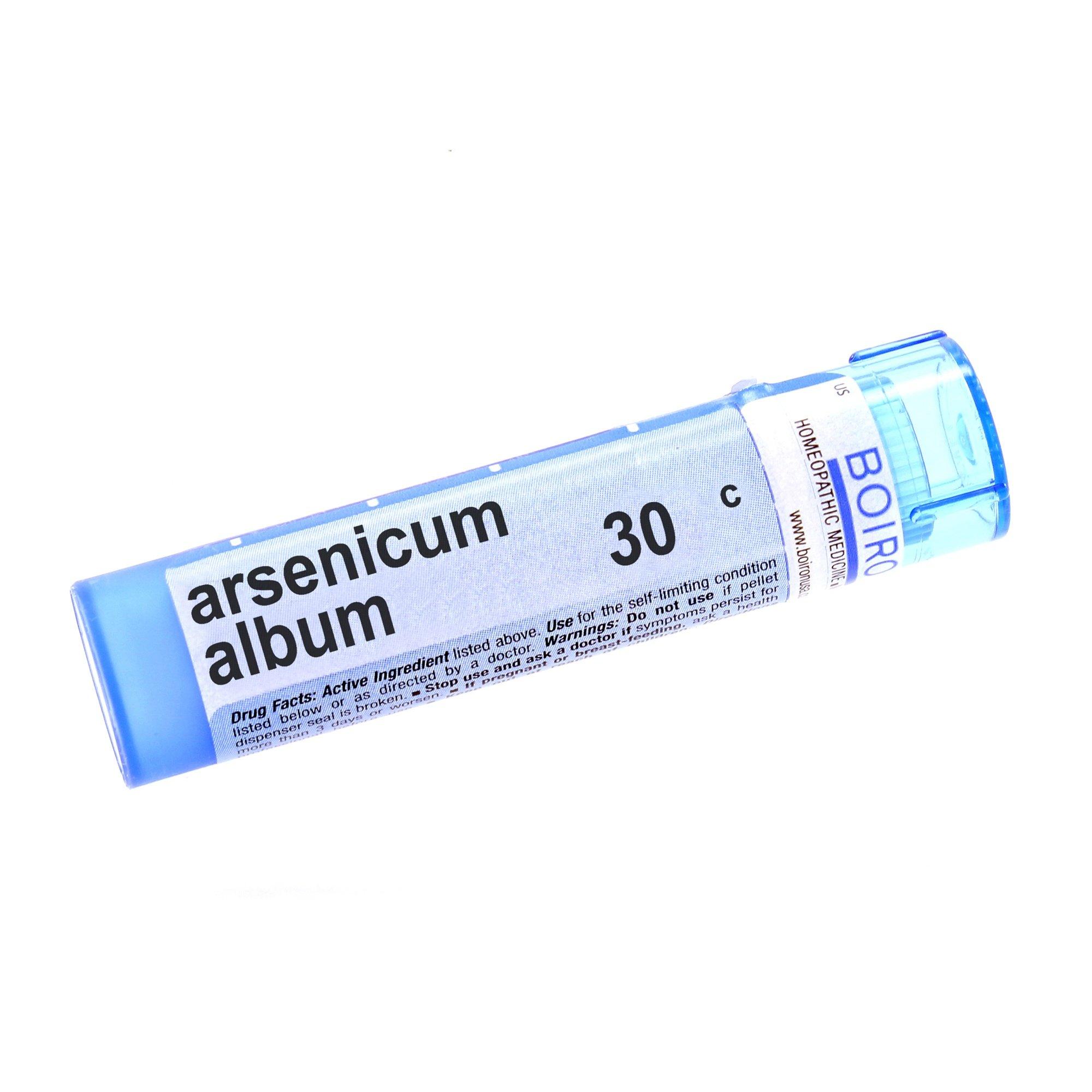 Amazon com: Boiron Arsenicum Album Homeopathic Remedie, 30C (80