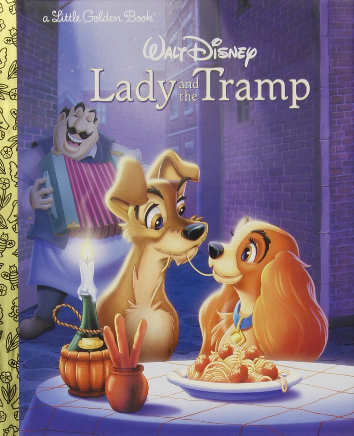 Lady and the Tramp Disney Lady and the Tramp Little Golden Book