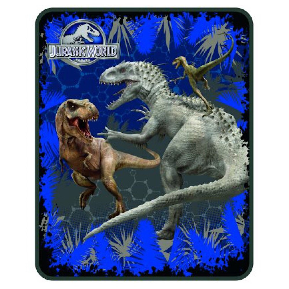 Jurassic World Dinosaurs Kids Throw Blanket