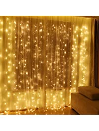 Twinkle Star 600 LED Window Curtain String Light For Wedding Party Home  Garden Bedroom Outdoor Indoor