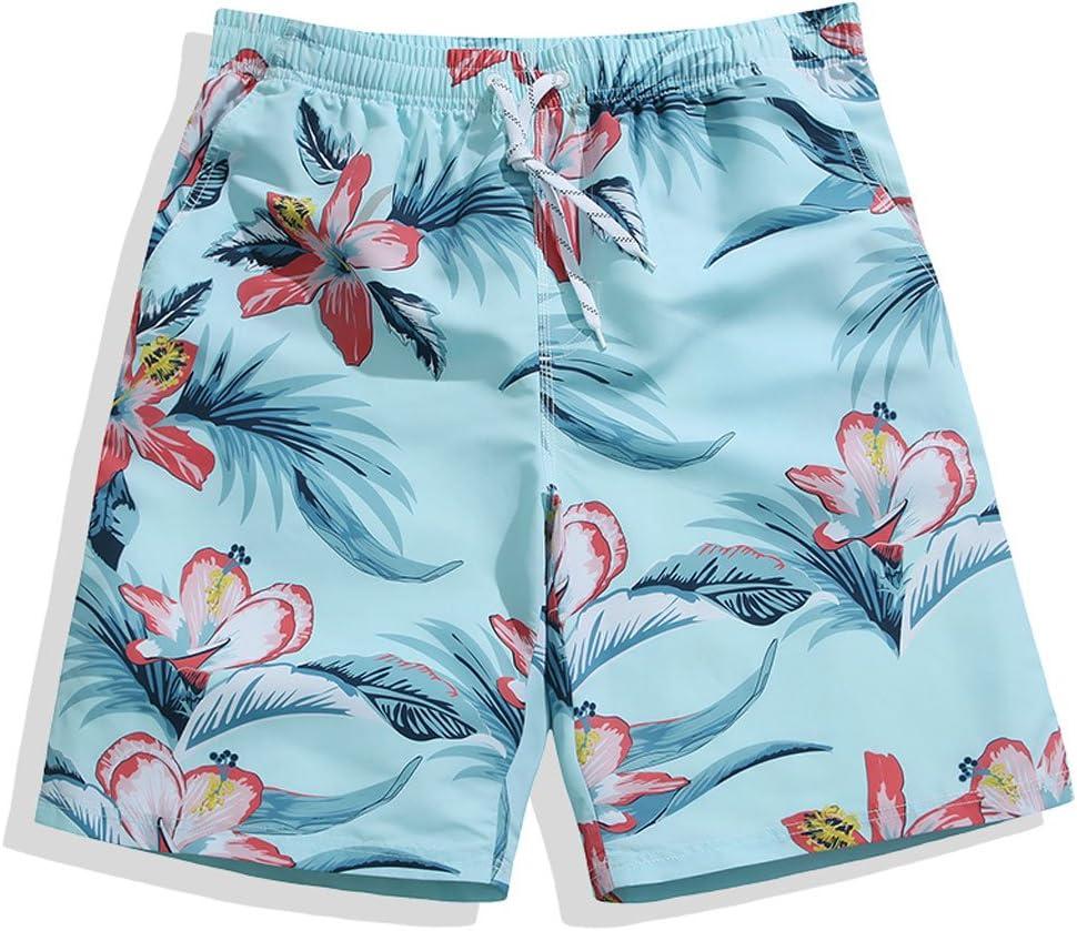 ビーチパンツforwin米国LooseメンズSeaside ResortフラットSurf Shortsショーツ短パンフラワー  Medium