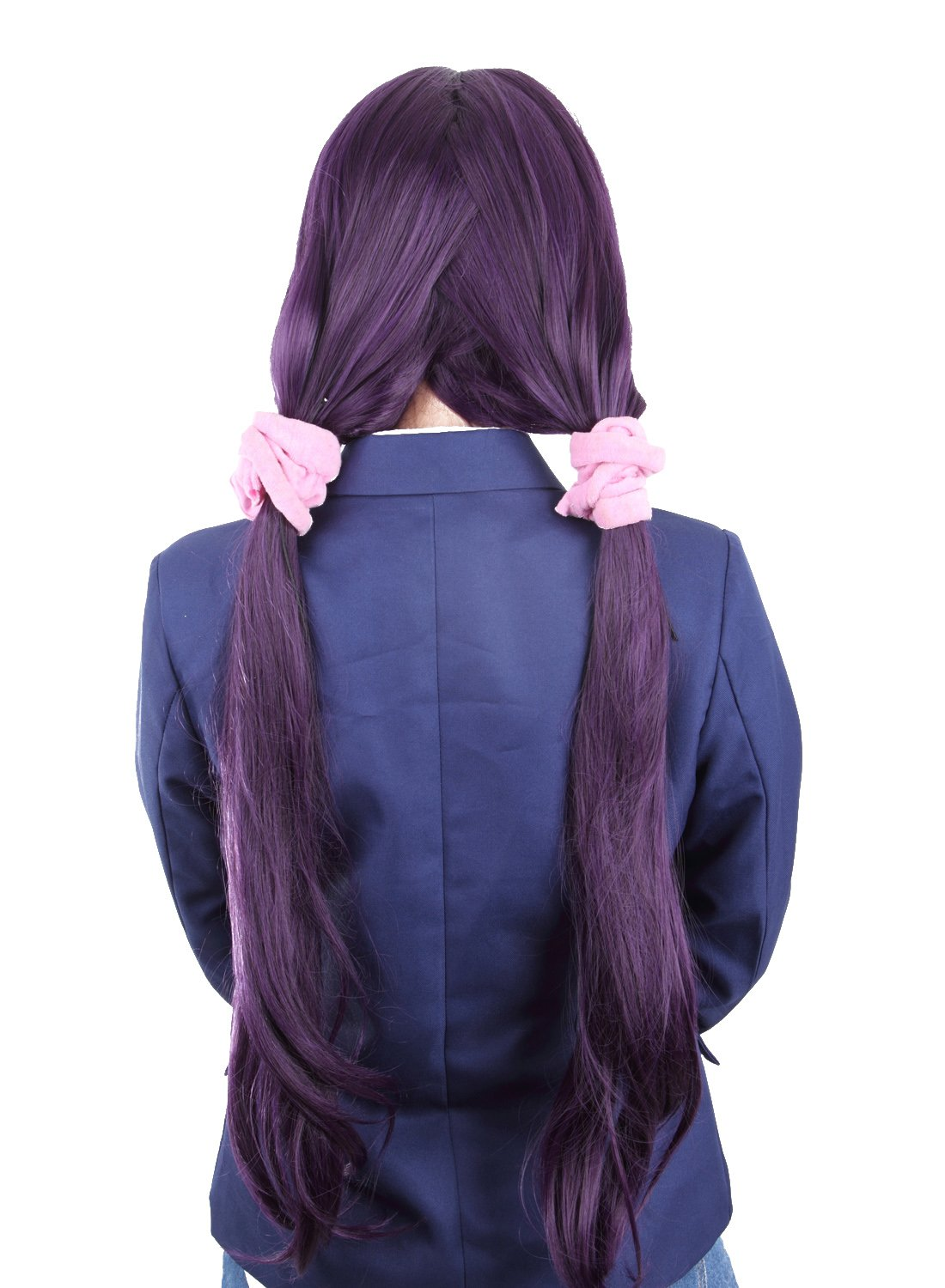 Probeauty Nozomi Tojo Cosplay Wigs Purple Straight Costume Hair Wig for Love Live by Probeauty (Image #3)