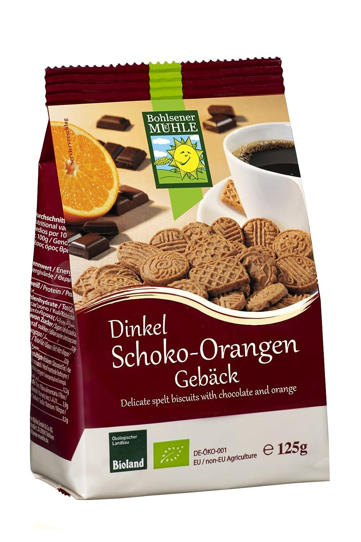 Amazon.com : Bohlsener Mühle Dinkel-Schoko-Orangen-Kekse ...