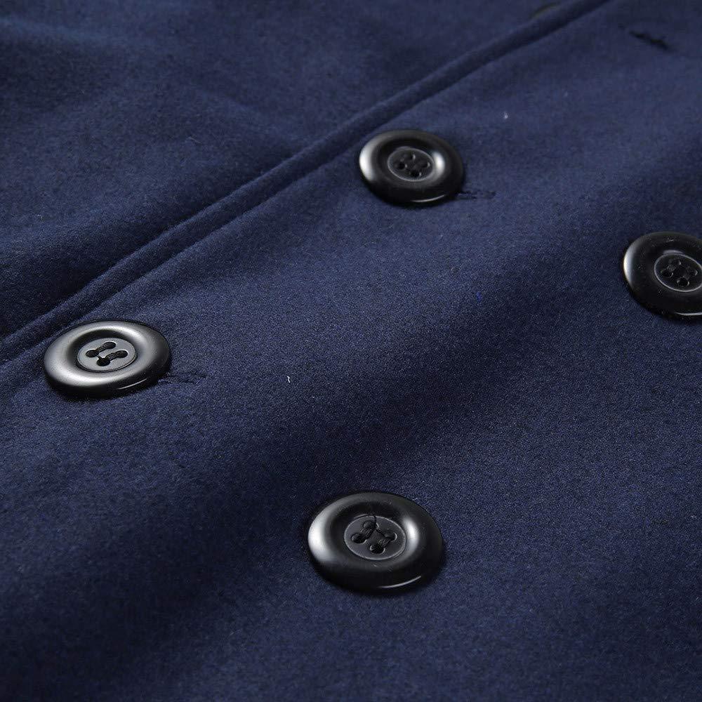Allywit Mens Long Sleeve Wool Lightweight Open Front Warm Hooded Cardigan