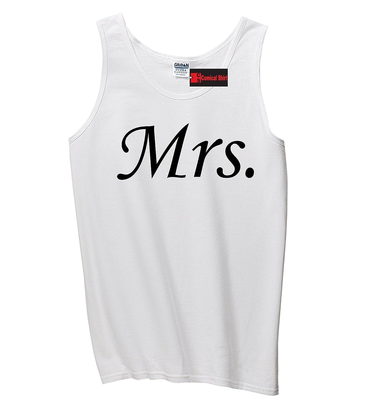Comical Shirt Men's Mrs Bride Gift Graphic Tee Tank Top