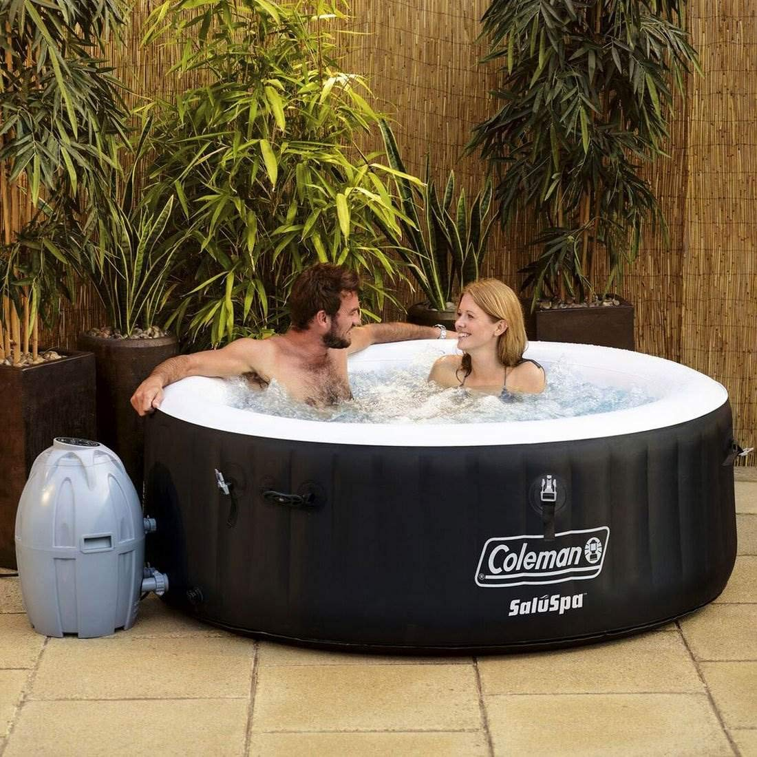 Coleman Portable Spa Inflatable 4-Person Hot Tub