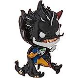 Funko Pop! Marvel: Maximum Venom - Dr. Strange, Brilla en la Oscuridad, Exclusiva de Amazon, Multicolor