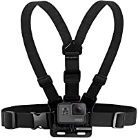 Houdian Brustgurt Halterung Brusthalterung Chest Mount Chesty Kompatibel mit GoPro Hero und Action-Kameras - Voll Verstellbarer Brustgurt