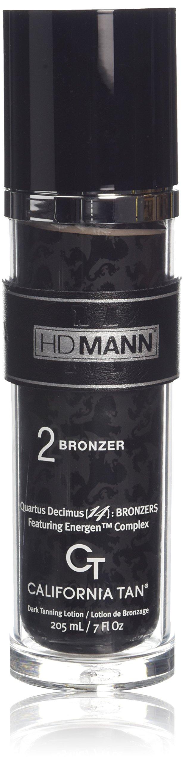 California Tan HD Mann, Step 2, Tanning Lotion 7 Ounce by California Tan