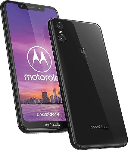 Motorola One - Smartphone Android One (pantalla de 5.9 ratio 19:9, cámara dual de 13 MP, 4 GB de RAM, 64 GB, Dual Sim), color negro [Versión española]: Motorola: Amazon.es: Electrónica