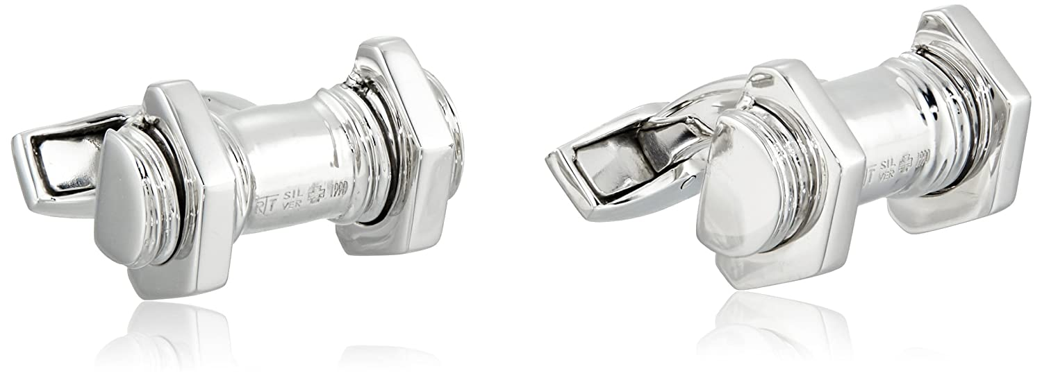 Tateossian Nut and Bolt Cuff Links Tateossian Jewelry CL5611