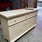 Amazon.com: sauder Harbor View Dresser en sal roble: Kitchen ...