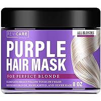 Purple Hair Mask - Made in USA Hair Toner w/ Retinol, Avocado Oil & Silk Proteins...