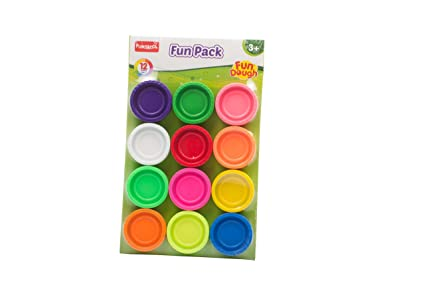Buy Funskool-Fundough Fun Pack, Multi Colour Online at Low Prices in ...