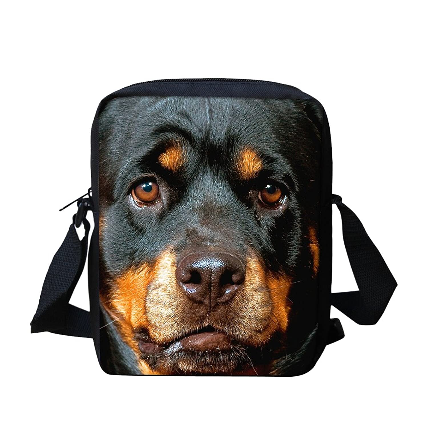 3D Dog Kids Messenger Bags for School Cross Body Shoulder Bag Cute for  Travel fce4c7b095def
