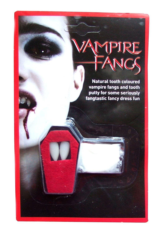 (Vampire Teeth) Crepúsculo Horror Gótico Dracula Disfraces Natural Colmillos Del Vampiro Dientes