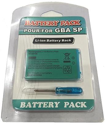 Link-e ® - 3.7V 850mAh para la consola portátil Nintendo GBA SP ...