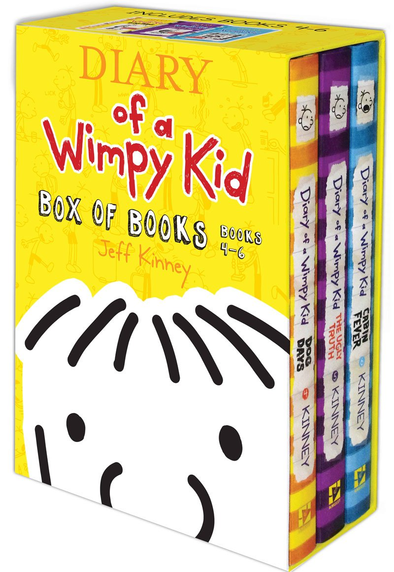 Diary of a wimpy kid box of books 4 6 jeff kinney diary of a wimpy kid box of books 4 6 jeff kinney 9781419707674 amazon books solutioingenieria Images